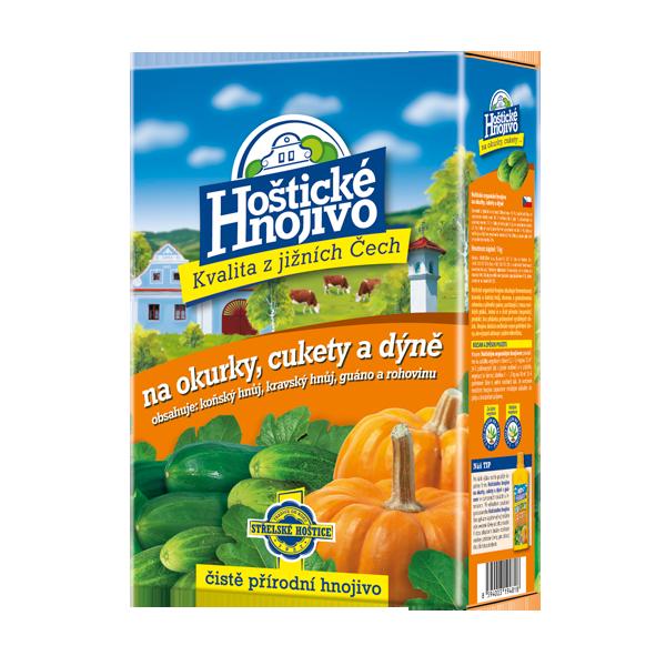 Hoštické hnojivo na okurky a cukety 1 kg