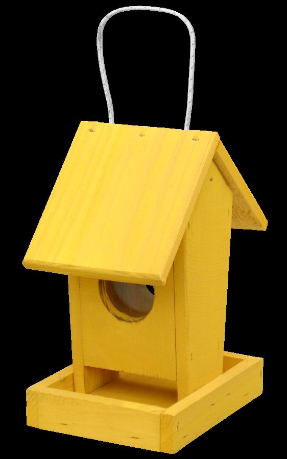 Krmitko č.1 Závěsné žluté