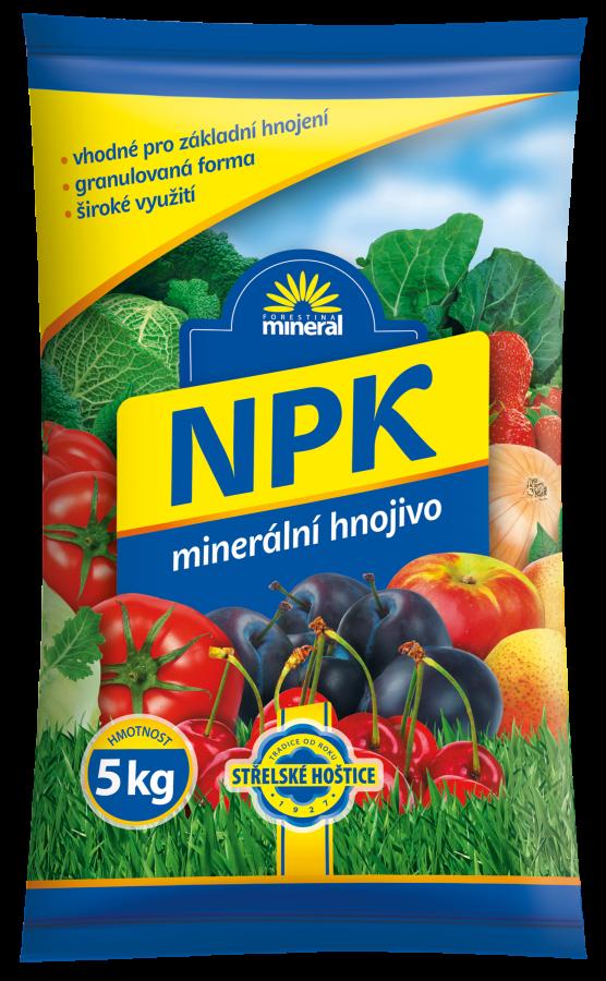 NPK - minerální 11-7-7 5 kg