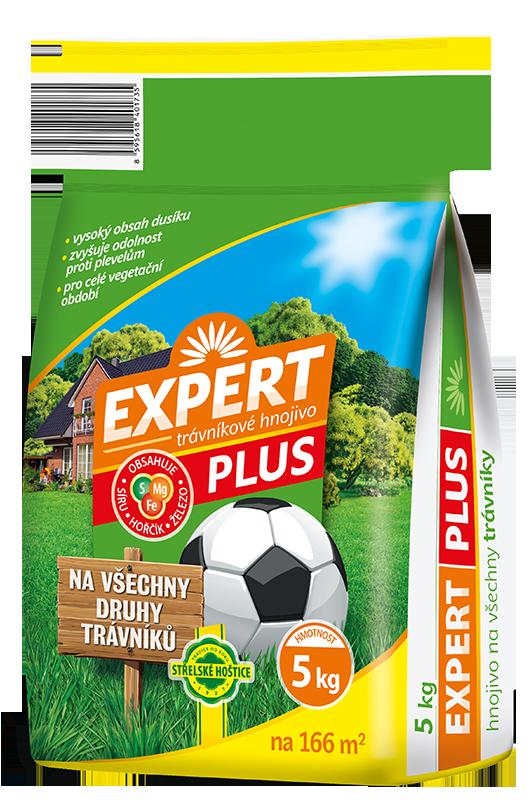 Expert PLUS 5kg hnojivo trávník